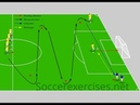 Slalom pass and shoot drill Soccer Exercises 37