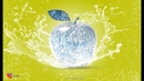 Ice Apple Manipulation tutorial video in Adobe Photoshop CC by Ju joy Design Bangla