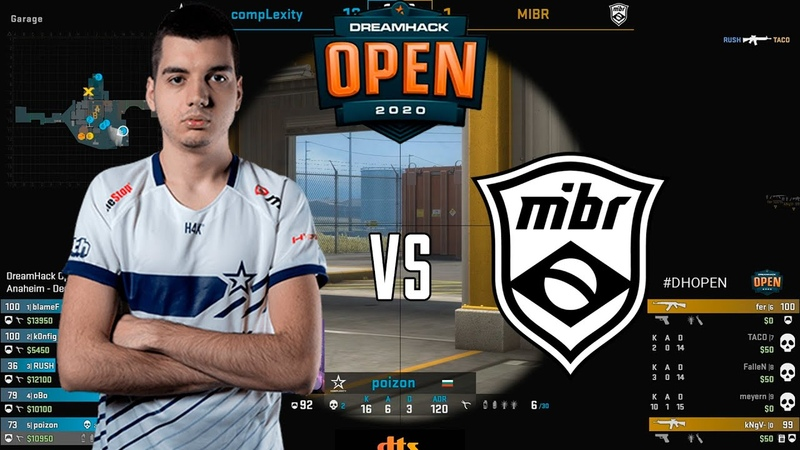 DreamHack Open Anaheim 2020 BO3 MIBR vs Complexity