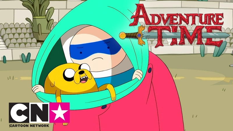 Время приключений Битва магов Cartoon Network