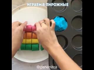 Нaтуральный пластилин для детoк своими рукaми  Бeз муки!