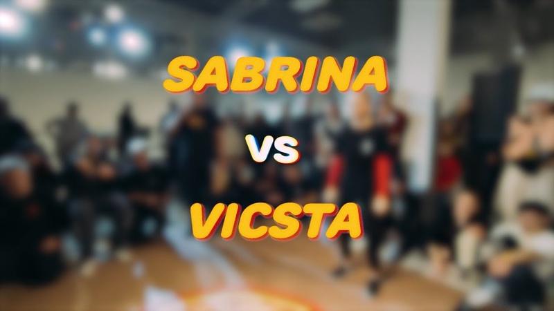 Sabrina vs Vicsta Electro beg 1 8