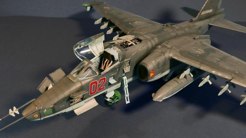 Su-25 Frogfoot || Су-25 Грач || Směr 1/48 || Full video build