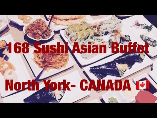 168 SUSHI ASIAN BUFFET NORTH YORK ON CANADA