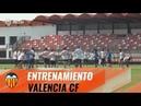 VALENCIA CF| ÚLTIMO ENTRENAMIENTO ANTES DE VIAJAR A CHELSEA