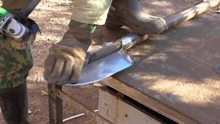 Как просто заточить (наточить) лопату штыıковую или совковую