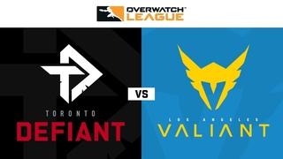 Knockout C | Toronto Defiant vs Los Angeles Valiant | Summer Showdown | NA Day 1