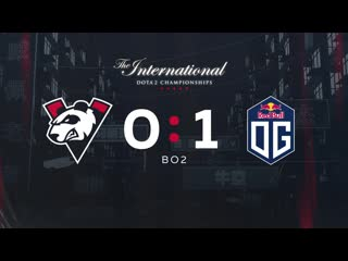Vp 0 1 og, bo2. group stage the international 2019