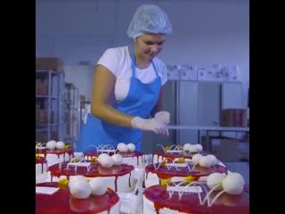 Экскурсия на производство тортов | Больше рецептов в группе Десертомания