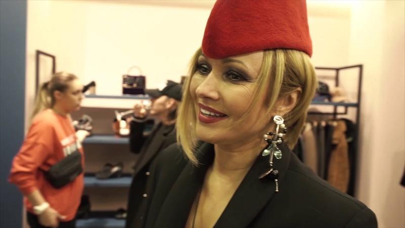 Pop-Up Fashion Show - Анжелика Агурбаш - Новая коллекция одежды