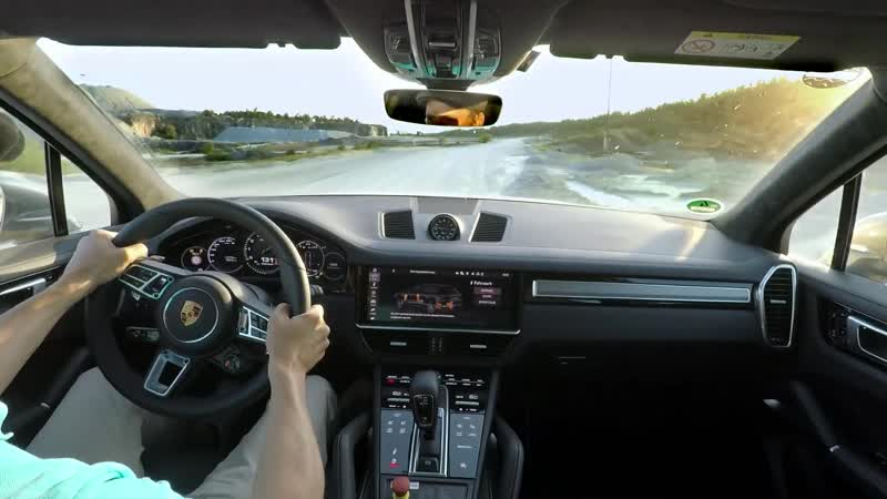 The Porsche Cayenne Turbo S E Hybrid sets an unusual lap record 1080p 25fps H264 128kbit AAC