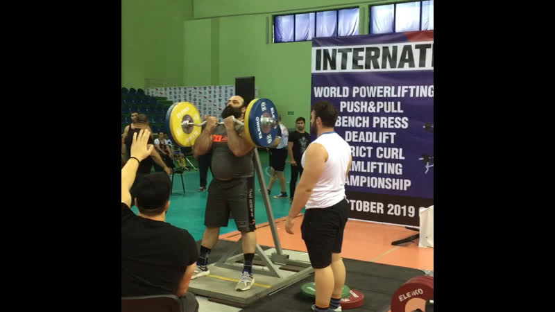 WORLD POWERLIFTING CHAMPIONSHIP - STRICT CURL. 💪🥇🏋🏻♂️ 2019