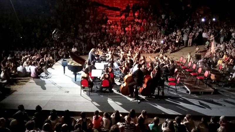 İdil Biret Muğla Belediye Orkestrası Konserinden