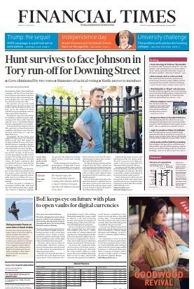 Financial Times UK - June 21 2019
