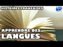 How does this French native learn languages Learn French with stories