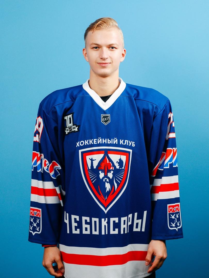 Кирилл Степашин ХК Чебоксары