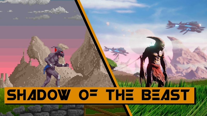 Evolution of Shadow of the Beast Games 1989-2016