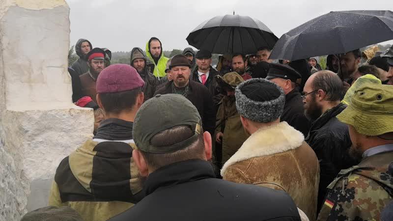 Буза Фрагмент речи Г Н Базлова на открытии Креста 30 Гуляй города
