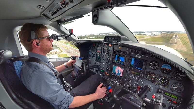 The Tampa Transition Single Pilot IFR Flight in Busy Airspace