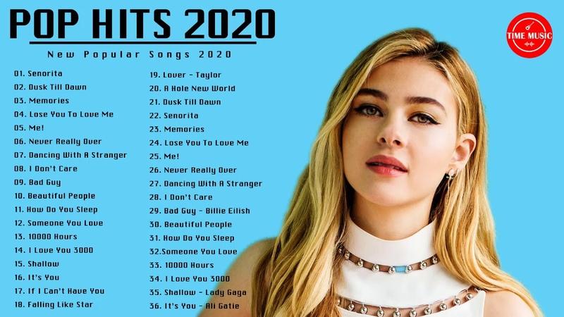 Canciones en Ingles 2020 Top 20 canciones en inglés 2020 Mejor lista De Canciones Populares 2020