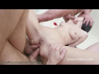 7on1 Facialized Angie Moon GangBang with ANAL DAP TAP Ball Deep Monster Prolapse Farts. She gets it deep GIO297