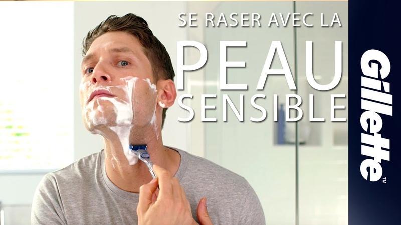 Se raser quand on a la peau sensible éviter boutons et irritations du rasage | Gillette SKINGUARD