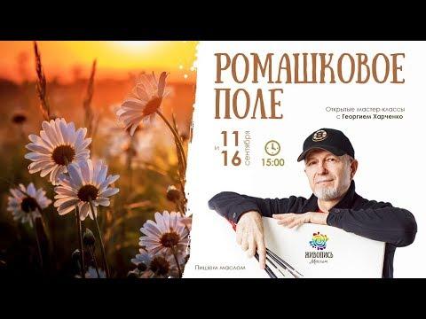 Открытые мастер-классы Ромашковое поле с Георгием Харченко. Часть 2