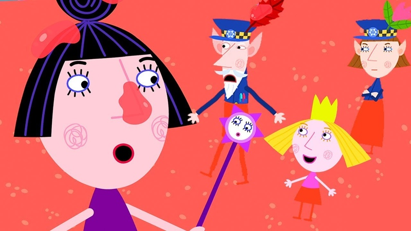 Ben and Holly's Little Kingdom Nanny Plum Failed Her Magic Test Cartoon for Kids
