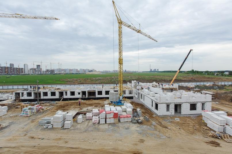 Отчет о ходе строительства квартал «Среда» май 2020, изображение №27