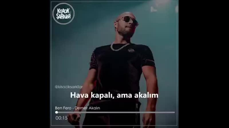 Ben fero - Demet Akalın - Kısacık şarkılar..mp4