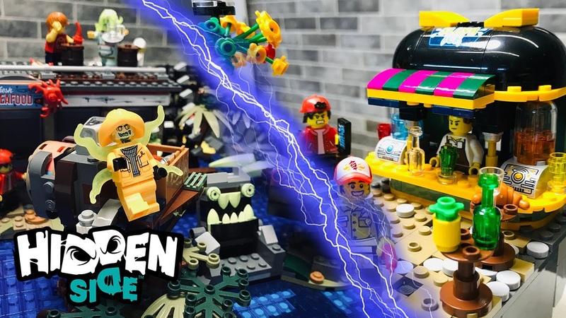 LEGO Hidden Side MOC - Мрачная бухта
