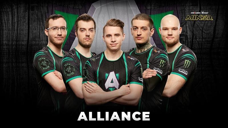 Team Profile Alliance StarLadder ImbaTV Dota 2 Minor Season 3