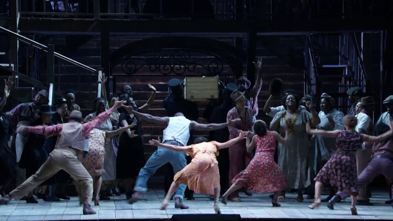 """Porgy and Bess: """"Leavin' for the Promise' Lan'"""""""