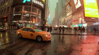 NYC Snow Walk   Broadway from Times Square to the Flatiron Building (January 18, 2020) - ASMR