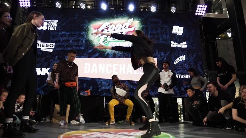 Karisma vs Настя Zun TOP7 DANCEHALL GOOD FOOT BATTLE 2019