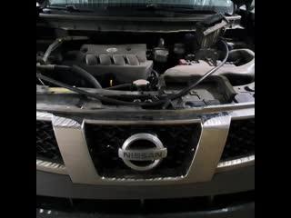 Nissan X-TRAIL очистка двигателя водородом в Нижнем Новгороде/Водородинг