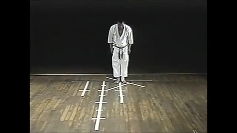 Bassai dai Masatoshi Nakayama bunkai