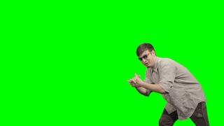 """*leans* *claps* """"oh my dude, you just got pranked!"""" - Filthy Frank - Green Screen"""