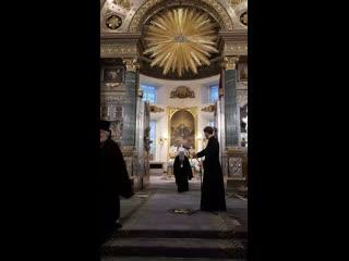 Проповедь митрополита Варсонофия по окончании всенощного бдения