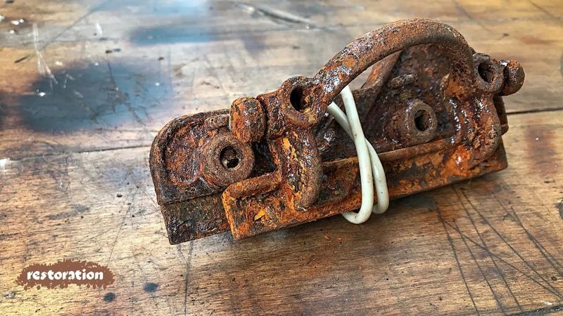 Не выбрасывайте старый...что? Восстановление забытого инструмента. ASMR video. Стройхак