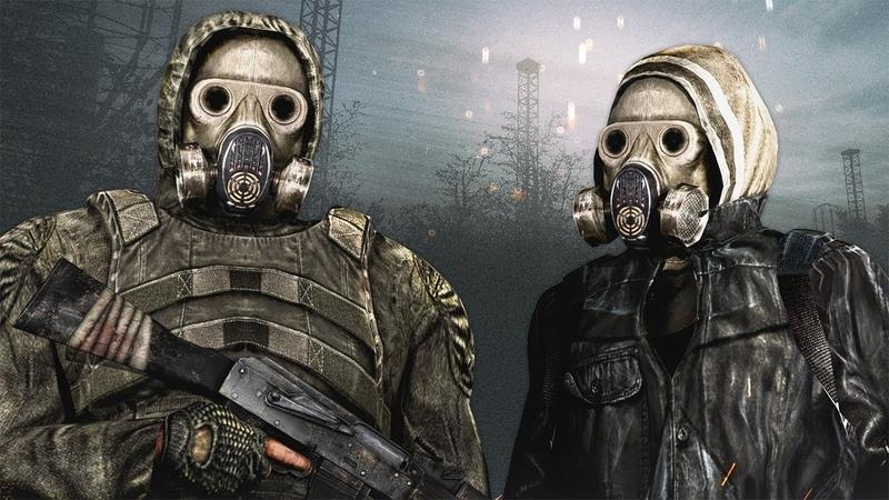 ОДИНОЧКИ VS БАНДИТЫ STALKER Call of Chernobyl КОРОЛЕВСКАЯ БИТВА 2