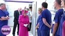 The Queen Meets With Staff and Patients at Cambridge's New Papworth Hospital