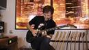 May Lian - Swing (guitar cover by Kirill Safonov). Hamer Californian Elite Holoskull