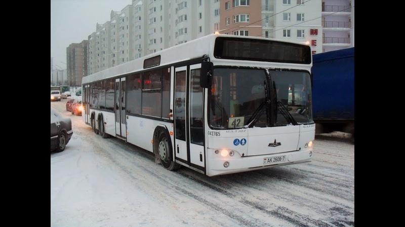 Автобус Минска МАЗ 107 468 гос № АК 2608 7 марш 17 27 08 2019