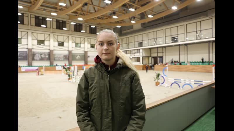 Ксения Хайрулина - победитель маршрута 145 см Золотой тур