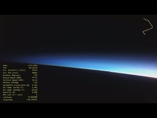 High Altitude Balloon 12 Lunar Eclipse 31 Jan 2018