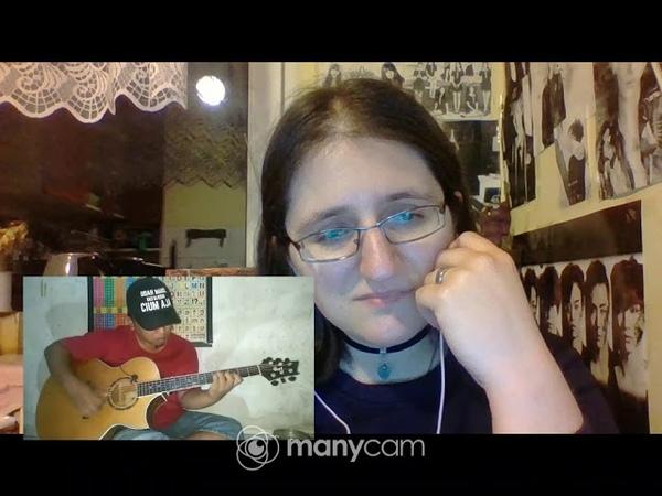 [REACTION] 738 Yiruma - Kiss The Rain (Alip_Ba_Ta Fingerstyle Cover) LIVE