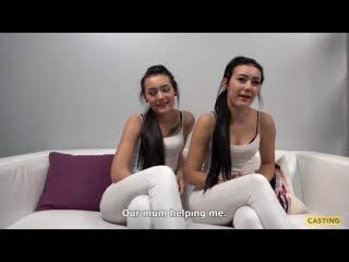 Zlata, Karolina порно кастинг (CzechCasting) Zee Twins (Lady Zee, Sandra Zee) porno чешский porn