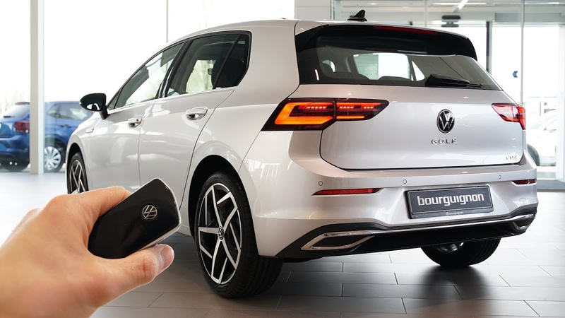 2020 VW Golf 8 1 5 eTSI 150hp Sound Visual Review