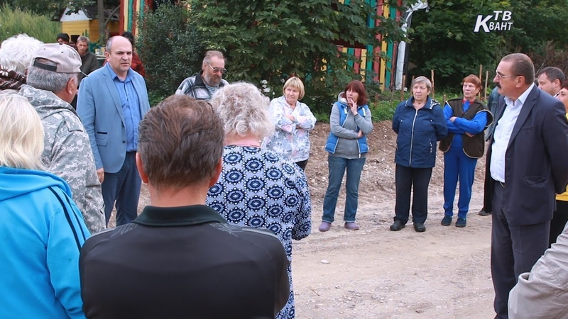 Встреча с жителями в Якшино и Журавне. Зарайск